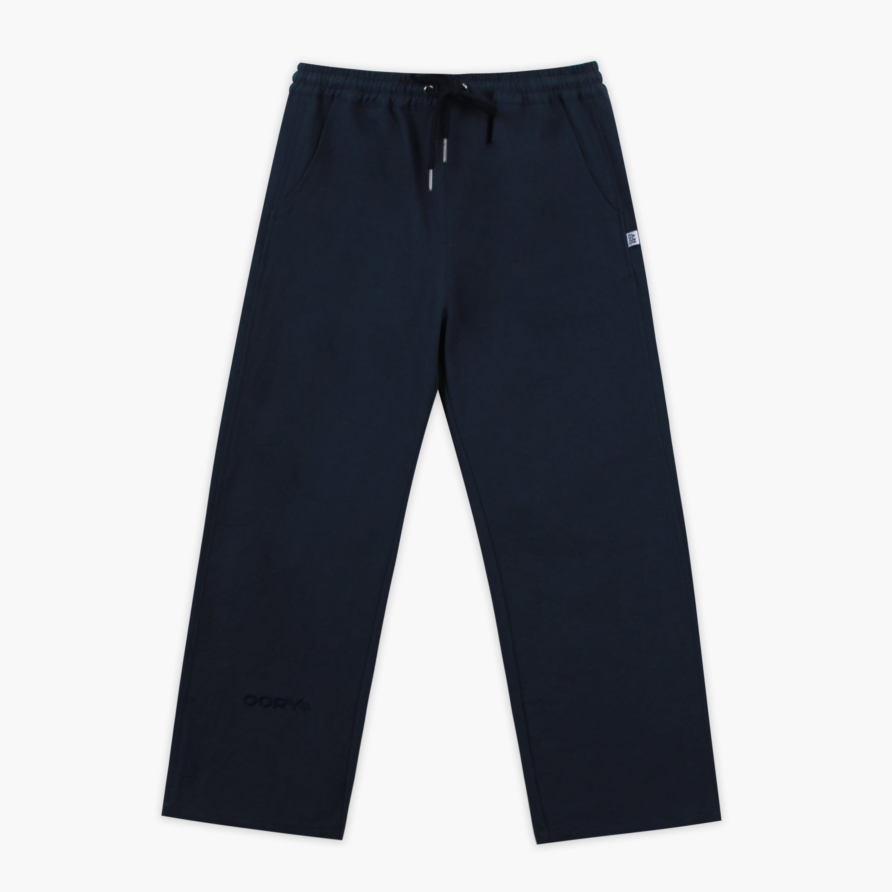 OORY cotton pants - navy